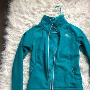 Teal rare North Face coat